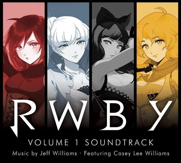 RWBY Volume 1 Soundtrack RWBY第一季原声带