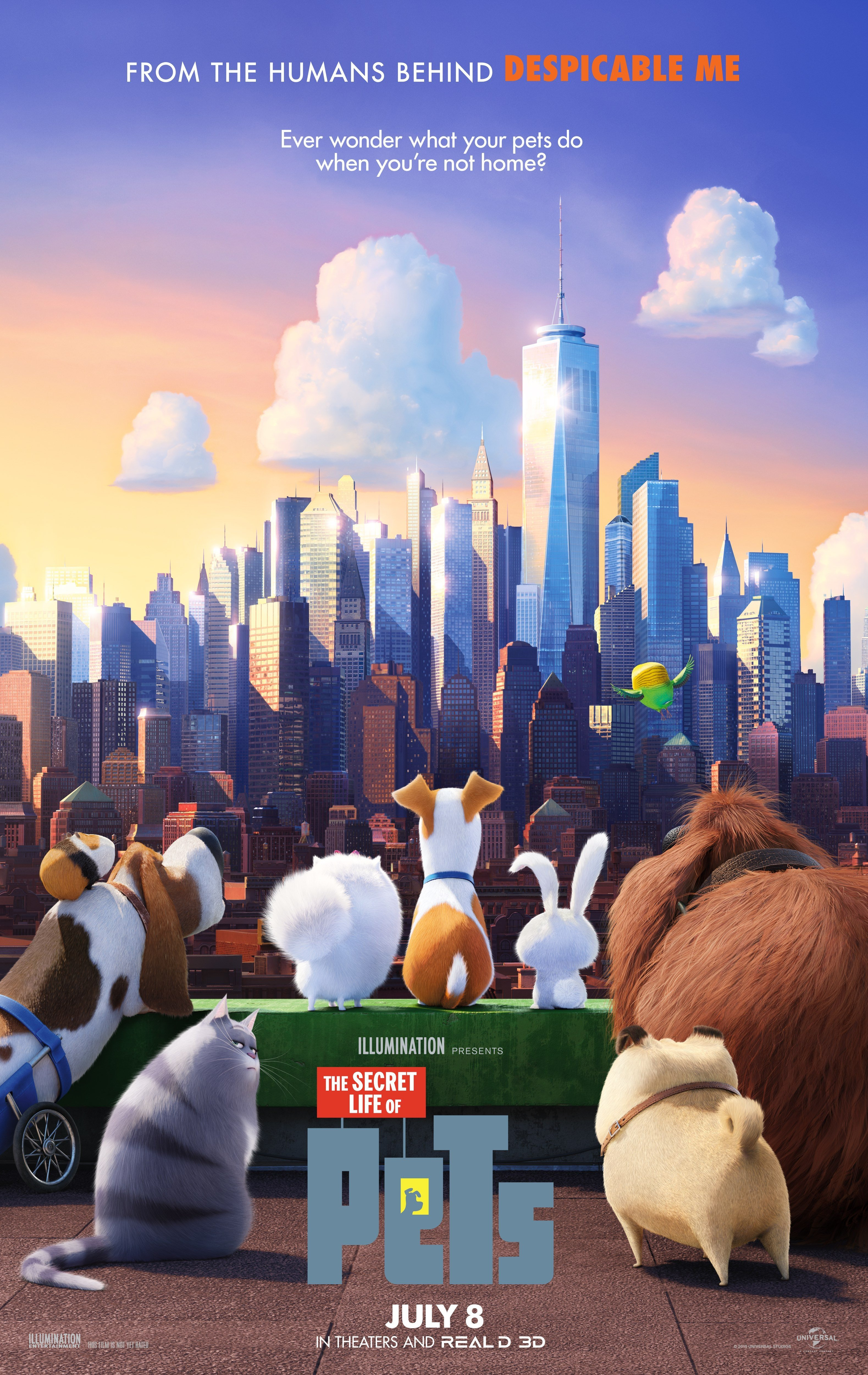 The Secret Life of Pets 爱宠大机密