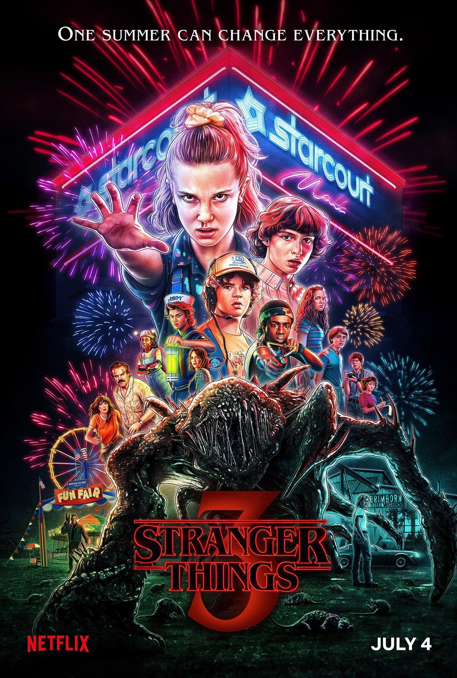Stranger Things Season 3 怪奇物语 第3季