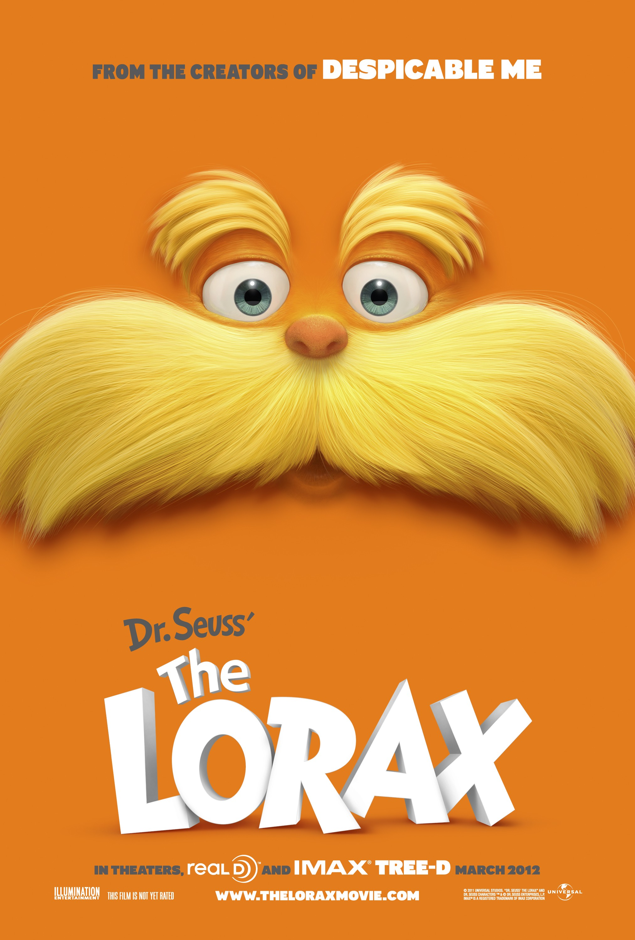 Dr. Seuss' The Lorax 老雷斯的故事