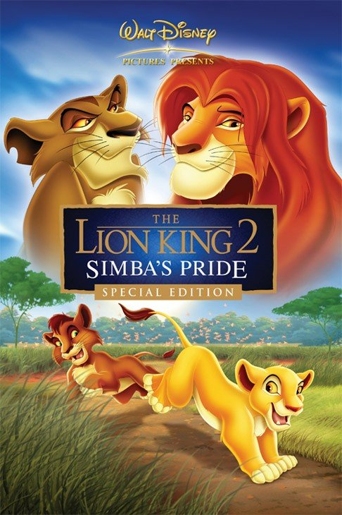 The Lion King 2: Simba's Pride 狮子王2:辛巴的荣耀