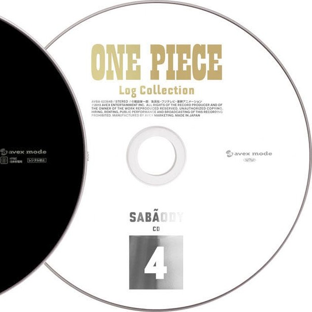 ONE PIECE Log Collection SABAODY Special CD