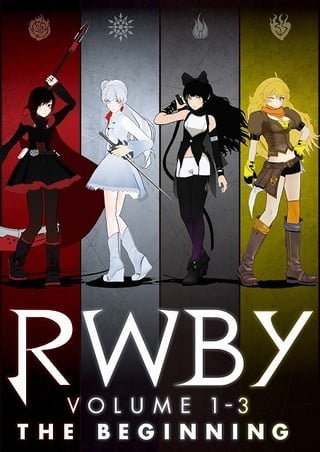 RWBY Volume 1-3: The Beginning RWBY Volume 1-3: The Beginning