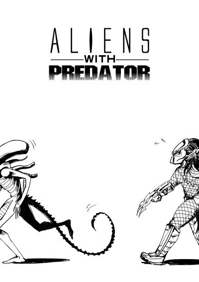 ALIENS with PREDATOR