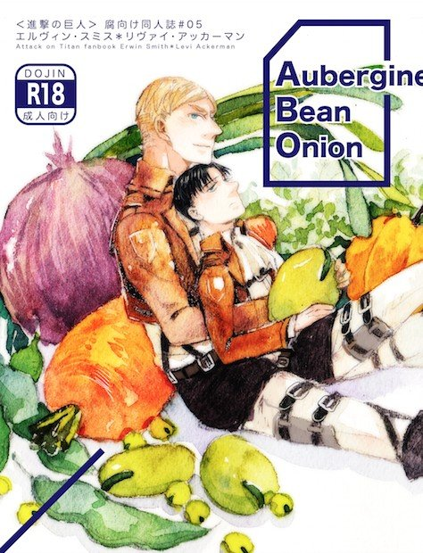 Aubergine Bean Onion 蔬菜园