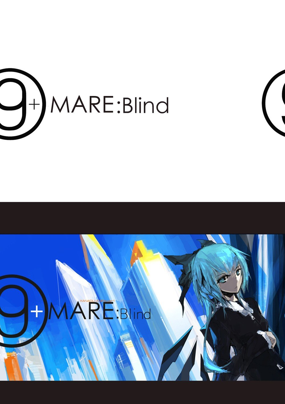 ⑨+mare:Blind