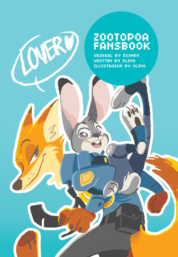 LOVER & FRIENDS - ZOOTOPIA FANSBOOK