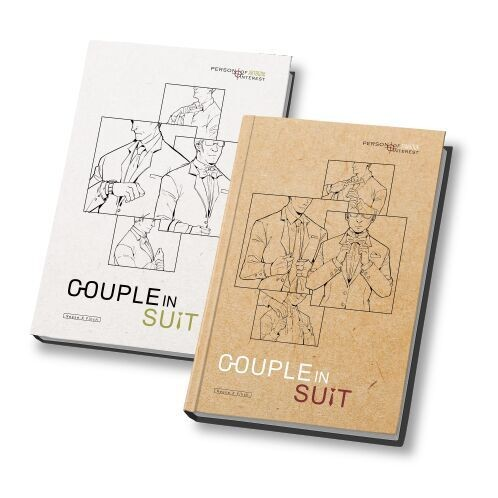 <COUPLE IN SUIT>