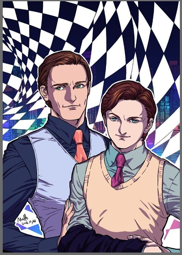 [X-men][Cherik] Two men in love