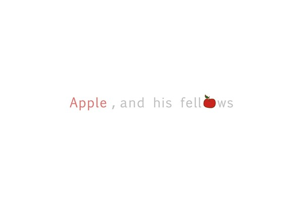 Apple, and his fellows