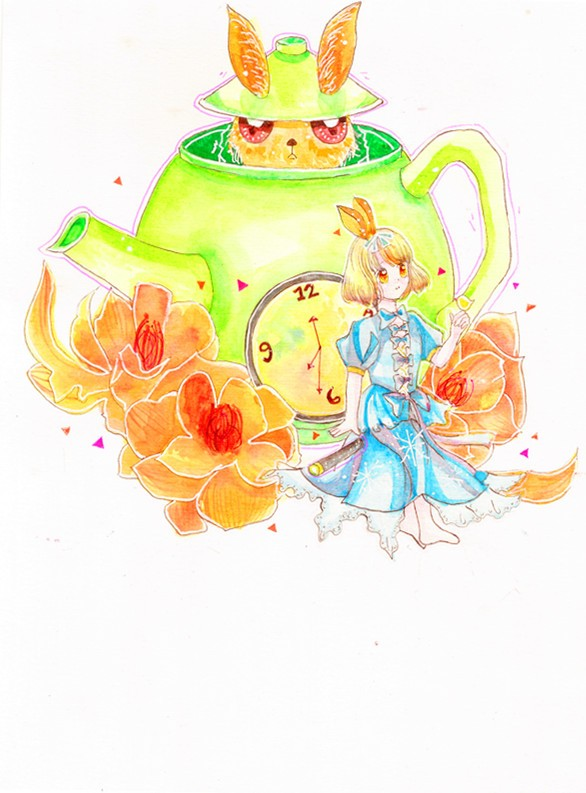 ALICE'S FLOWER TEA